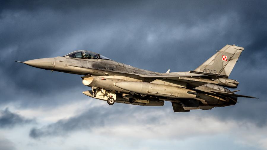 F-16 Block 52+ Jastrząb - 31. BLT fot. Michał Banach